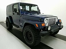 2005 Jeep Wrangler 4WD Unlimited for sale 100968767