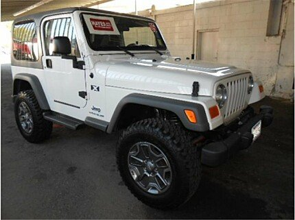 2005 Jeep Wrangler 4WD X for sale 100980797