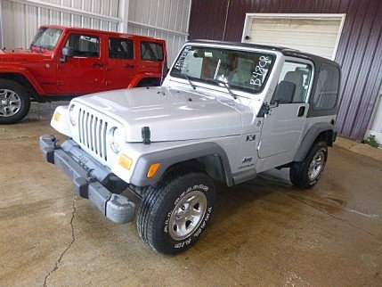 2005 Jeep Wrangler 4WD X for sale 100982739