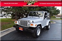 2005 Jeep Wrangler 4WD X for sale 100998270