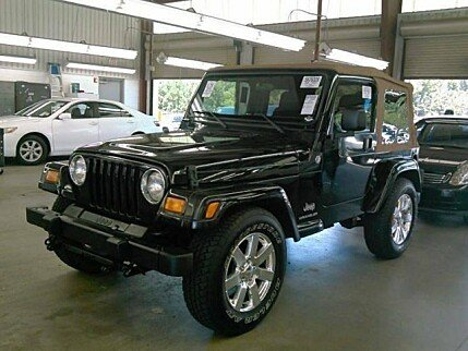 2005 Jeep Wrangler 4WD X for sale 100998784