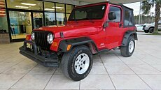 2005 Jeep Wrangler 4WD SE for sale 100999071