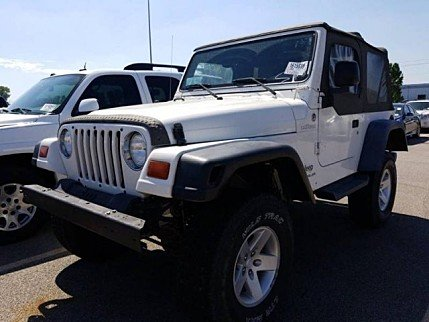 2005 Jeep Wrangler 4WD X for sale 101036409