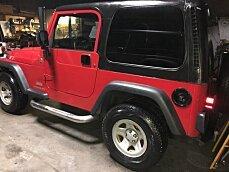 2005 Jeep Wrangler 4WD SE for sale 101043281