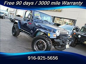 2005 Jeep Wrangler 4WD Unlimited for sale 101046688