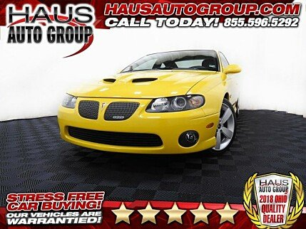 2005 Pontiac GTO for sale 100995454
