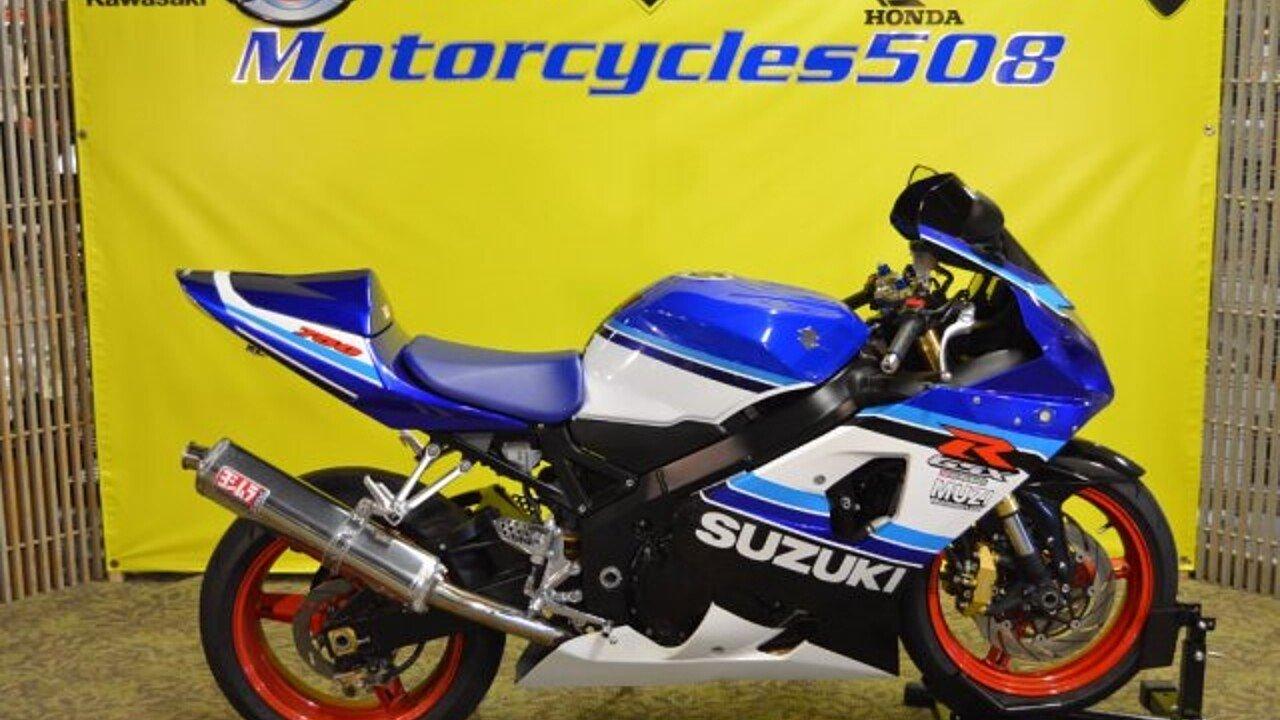 2005 Suzuki GSX-R750 for sale 200449992