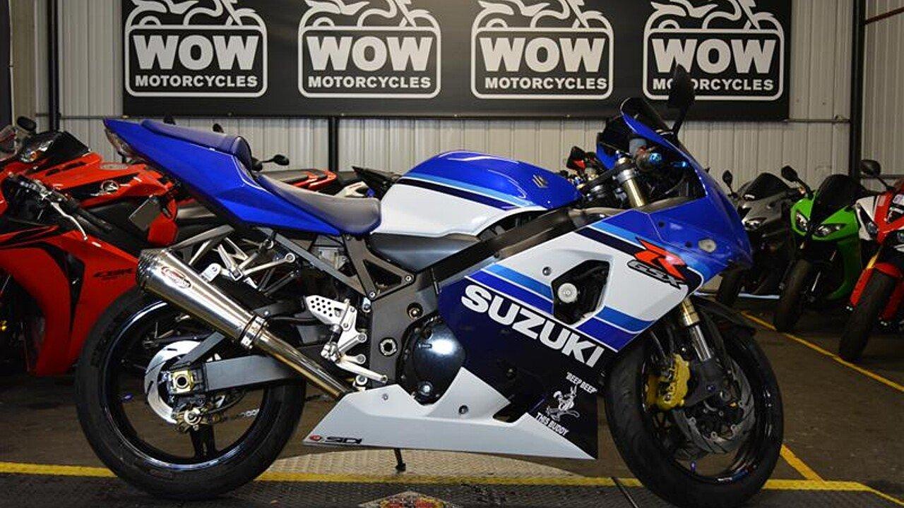 2005 Suzuki GSX-R750 for sale 200516075