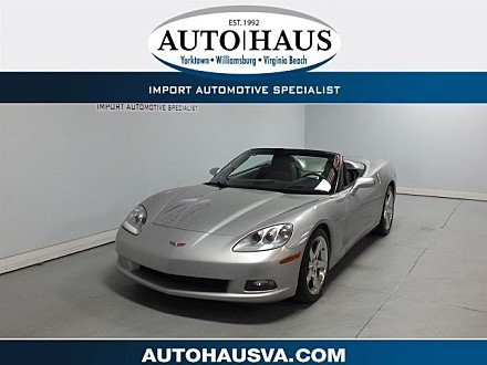 2005 chevrolet Corvette Convertible for sale 101026320