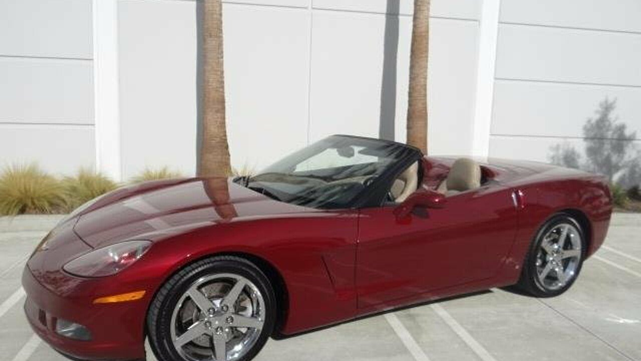 2006 Chevrolet Corvette Convertible for sale 100929237