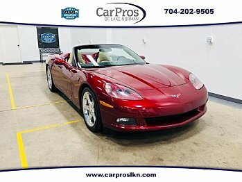 2006 Chevrolet Corvette Convertible for sale 101022216