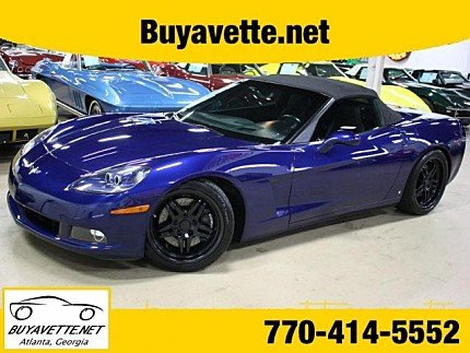 2006 Chevrolet Corvette Convertible for sale 100968718