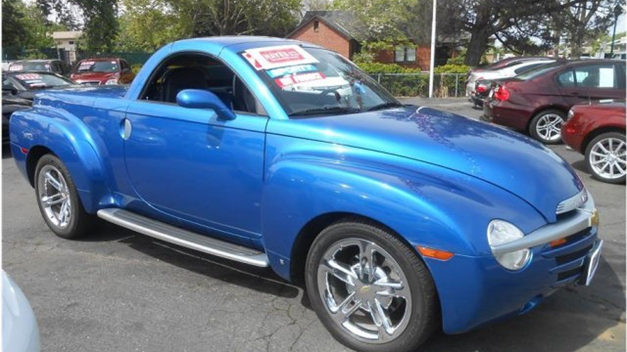 All Chevy 2006 chevrolet ssr for sale : 2006 Chevrolet SSR for sale near Roseville, California 95678 ...