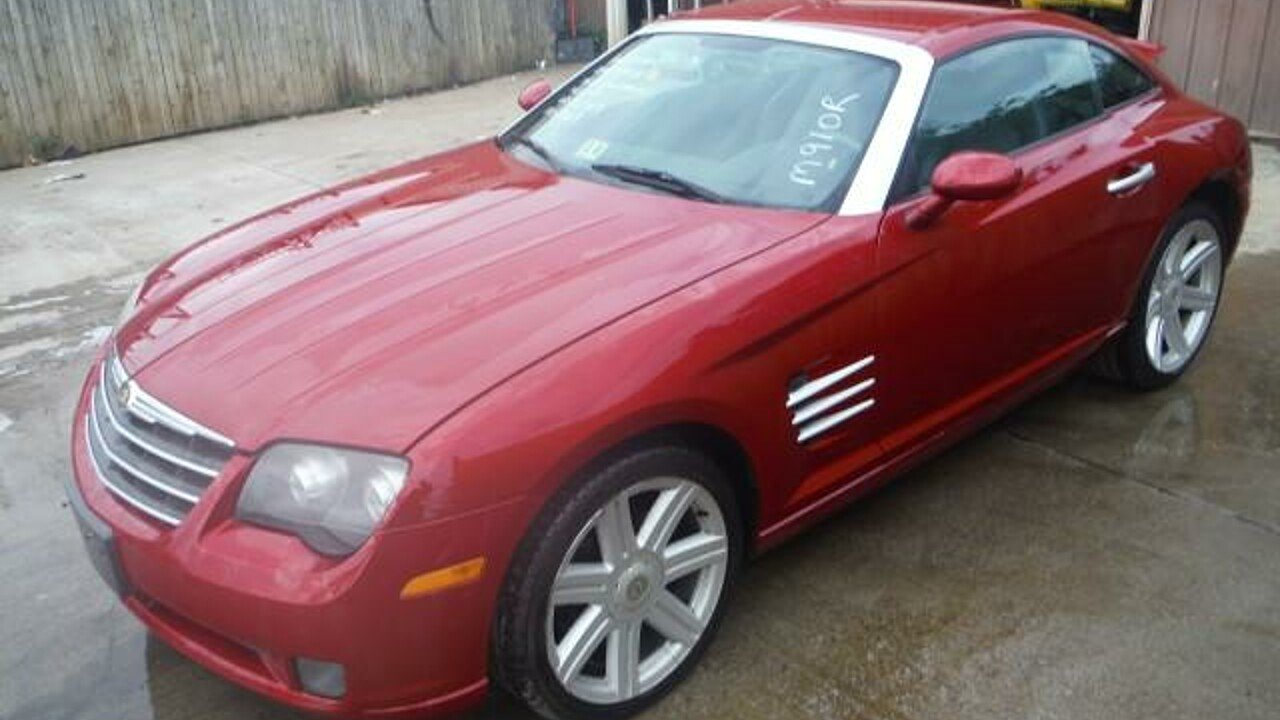 2006 chrysler crossfire limited coupe for sale near bedford virginia 24174 classics on autotrader. Black Bedroom Furniture Sets. Home Design Ideas