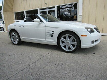 2006 Chrysler Crossfire Limited Convertible for sale 101006048