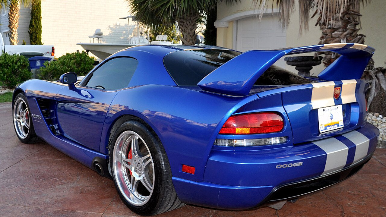 2006 dodge viper srt 10 coupe for sale near north myrtle beach south carolina 29582 classics. Black Bedroom Furniture Sets. Home Design Ideas