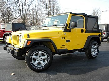 2006 Jeep Wrangler for sale 100727628