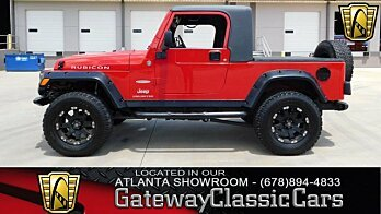 2006 Jeep Wrangler 4WD Unlimited Rubicon for sale 101002619