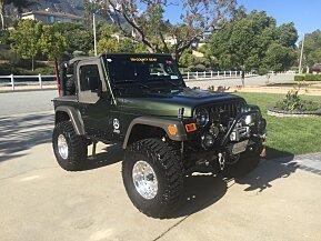 2006 Jeep Wrangler 4WD SE for sale 100768947
