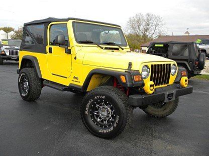 2006 Jeep Wrangler for sale 100922557