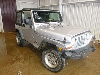 2006 Jeep Wrangler 4WD Sport for sale 100962182