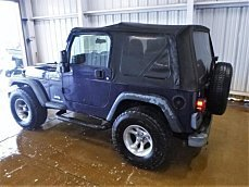 2006 Jeep Wrangler 4WD Sport for sale 100966940