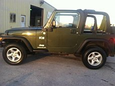 2006 Jeep Wrangler 4WD X for sale 100982620