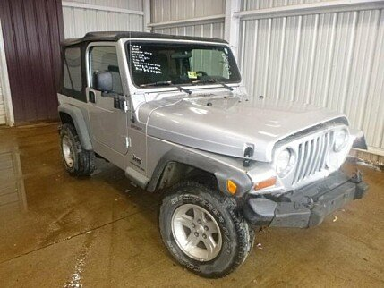 2006 Jeep Wrangler 4WD Sport for sale 100982832