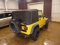 2006 Jeep Wrangler 4WD Sport for sale 100988288