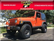 2006 Jeep Wrangler 4WD Sport for sale 101000517