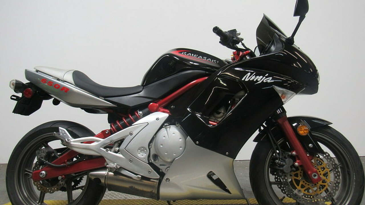 2006 Kawasaki Ninja 650R for sale near Canton, Michigan 48187 ...