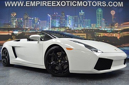 2006 Lamborghini Gallardo Spyder for sale 100758228
