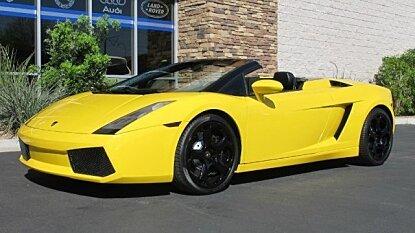 2006 Lamborghini Gallardo Spyder for sale 100839671