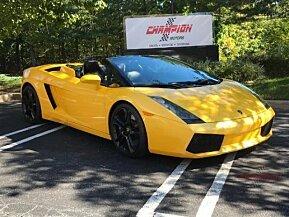 2006 Lamborghini Gallardo Spyder for sale 100967626