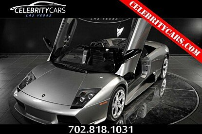 2006 Lamborghini Murcielago Roadster for sale 100970883