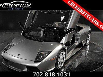 2006 Lamborghini Murcielago Roadster for sale 100970883