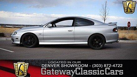 2006 Pontiac GTO for sale 100967915