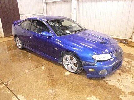 2006 Pontiac GTO for sale 100973093
