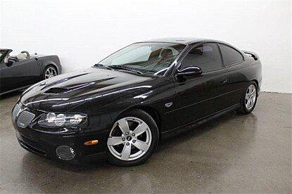 2006 Pontiac GTO for sale 101035656