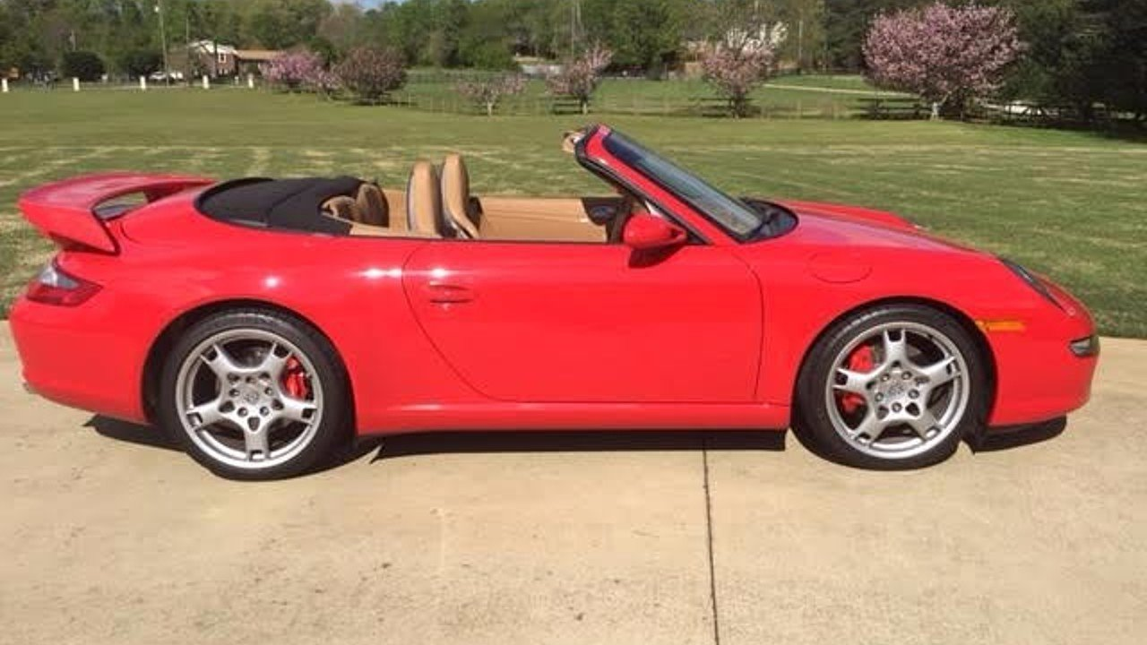 2006 Porsche 911 Cabriolet for sale 100758034