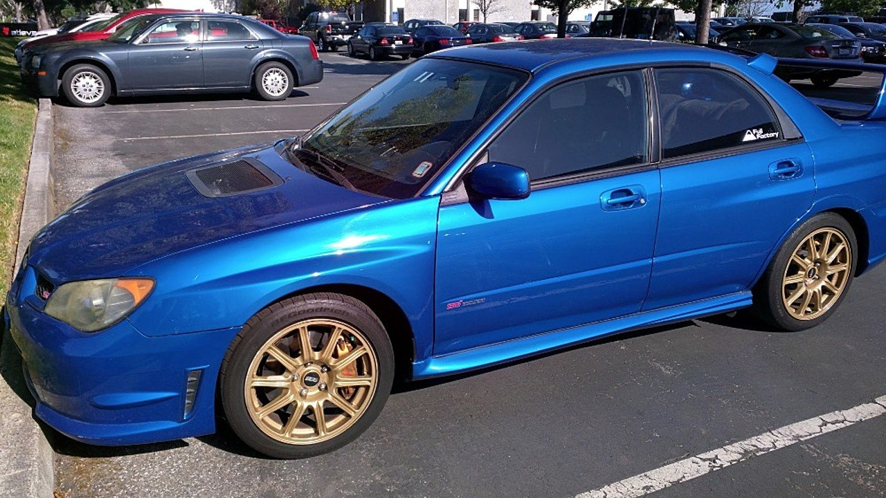 2006 subaru impreza wrx sti sedan for sale near santa. Black Bedroom Furniture Sets. Home Design Ideas