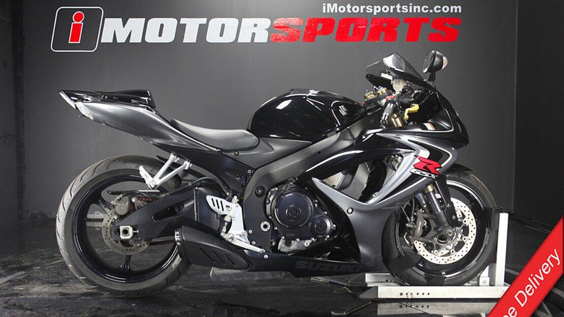 2006 Suzuki GSX-R600 for sale 200596593