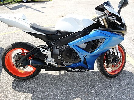 2006 Suzuki GSX-R600 for sale 200381567