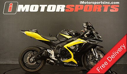 2006 Suzuki GSX-R600 for sale 200487217