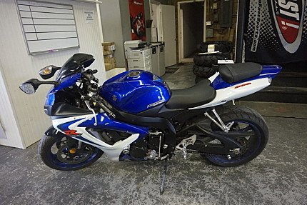 2006 Suzuki GSX-R600 for sale 200500124