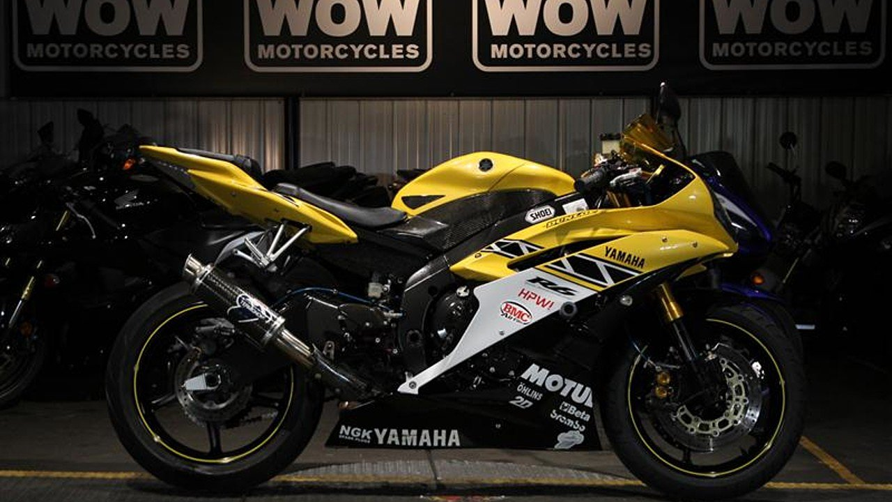 2006 Yamaha YZF-R6 for sale 200546603
