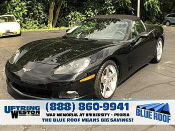 2006 chevrolet Corvette Convertible for sale 100999716