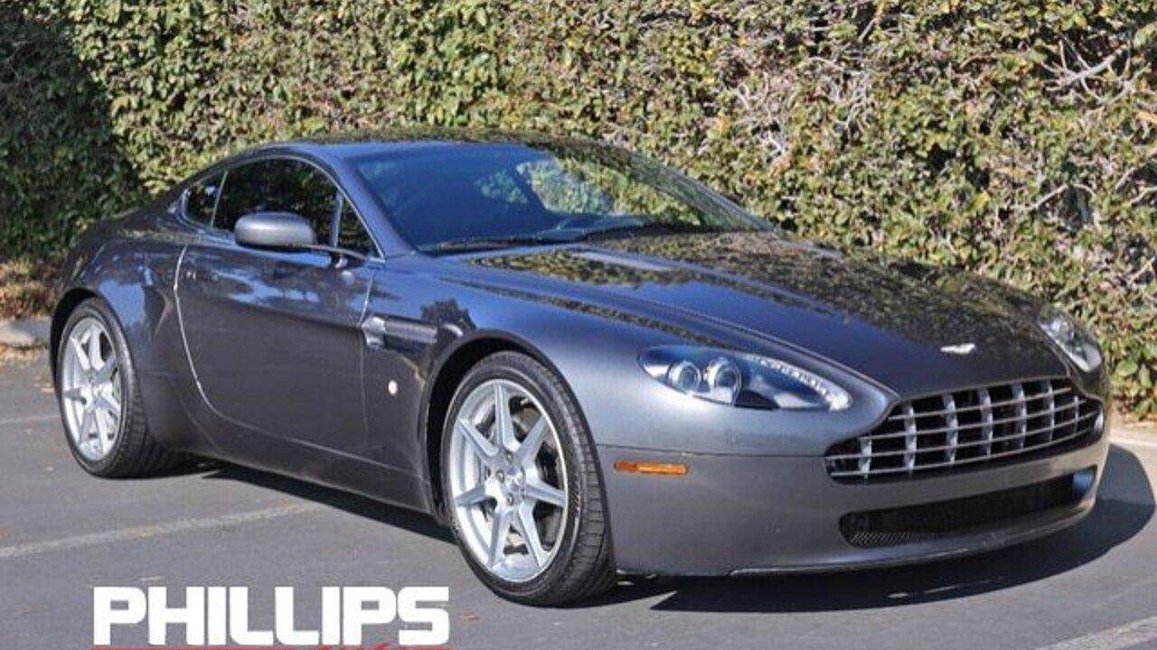 2007 Aston Martin V8 Vantage Coupe for sale near Newport Beach ...