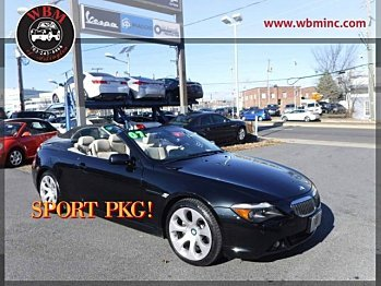 2007 BMW 650i Convertible for sale 100833066