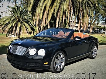 2007 Bentley Continental GTC Convertible for sale 100020528